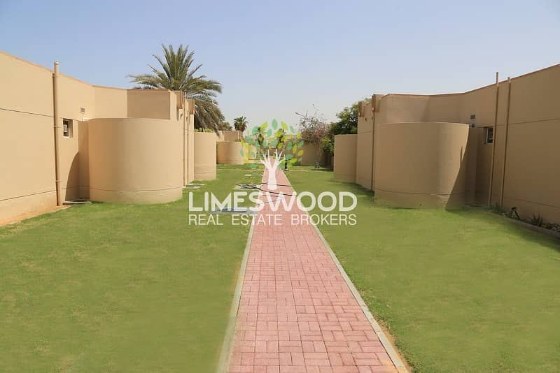 2 Stunning 3BR+M Single Story Villa In JUMEIRAH 3 FOR RENT