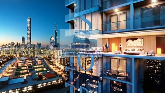 1 Bedroom Apartment for Sale in Mohammad Bin Rashid City, Dubai - Premium 1 Bed in High Floor With Creek and Burj View