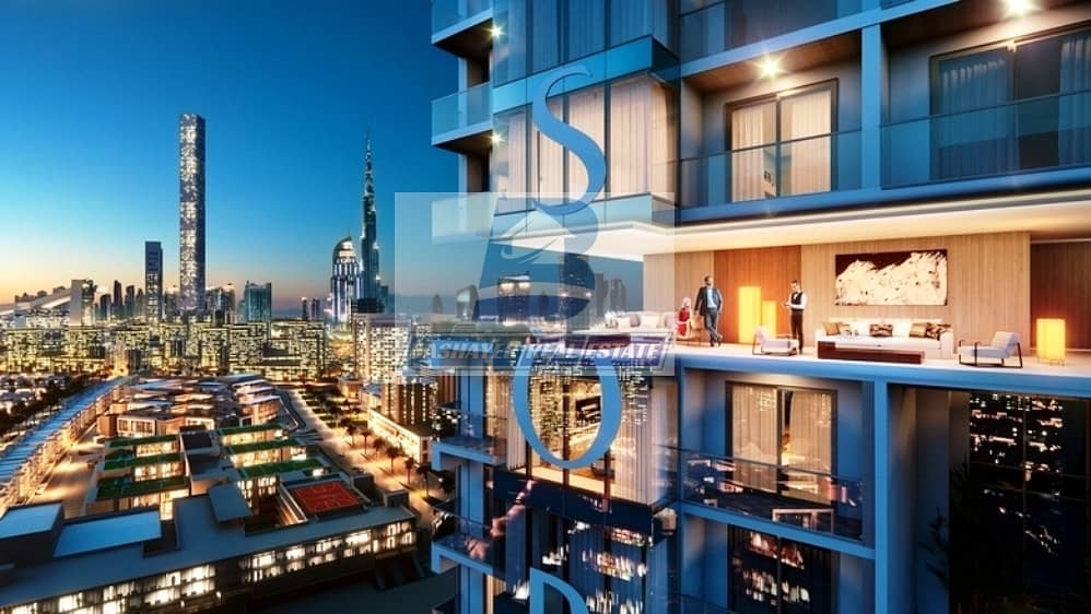 Premium 1 Bed in High Floor With Creek and Burj View