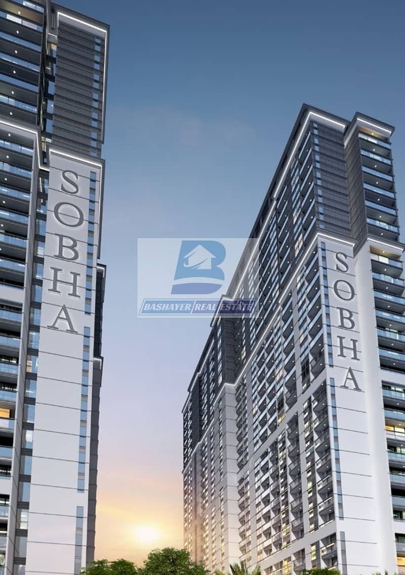 2 Premium 1 Bed in High Floor With Creek and Burj View