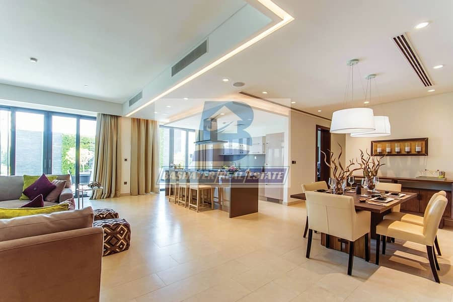 10 Premium 1 Bed in High Floor With Creek and Burj View