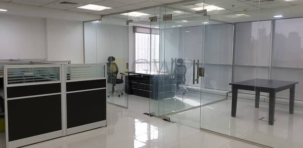 Office for Rent in Jumeirah Lake Towers (JLT), Dubai - Furnished | Lake View | Glass Cabins | JBC 5
