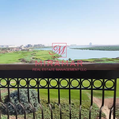 2 Bedroom Apartment for Sale in Yas Island, Abu Dhabi - GOLF VIEW MAIDS ROOM LARGE, CLOSED KITCHEN