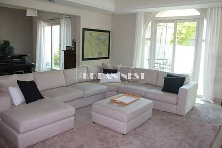 5 Bedroom Villa for Rent in Dubai Sports City, Dubai - Beautiful Park Backing C1 in Carmen with Large Plot