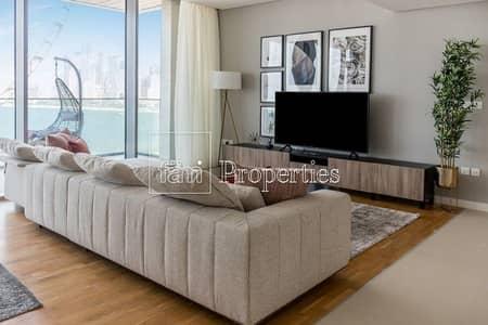شقة 2 غرفة نوم للايجار في جزيرة بلوواترز، دبي - Lucky 13th Floor Apartment - Fully Furnished