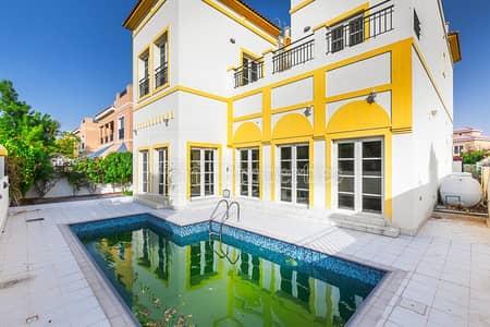5 Bedroom Villa for Rent in The Villa, Dubai - Vacant Corner 5 BR with Pool| Park facing