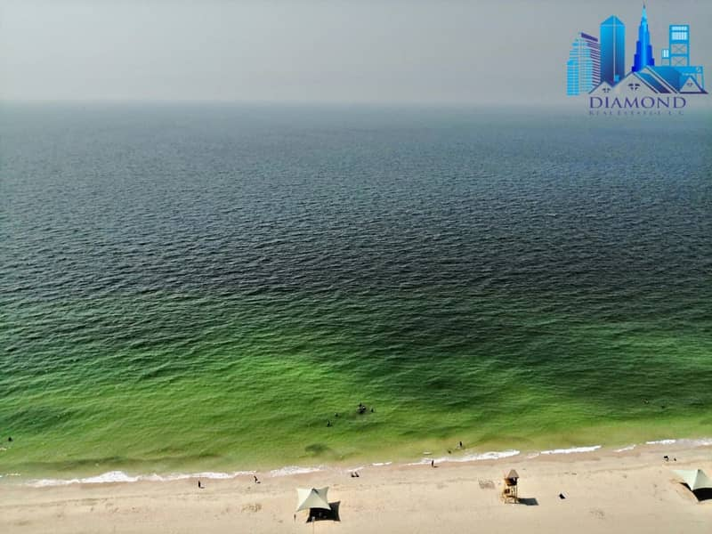 PAY 100,000 TO GET YOU KEY FOR 2 BHK IN AJMAN CORNICHE RESIDENCE FULL SEA VIEW