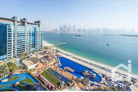 فلیٹ 1 غرفة نوم للبيع في نخلة جميرا، دبي - High Floor Oceana Pacific 1 Bedroom