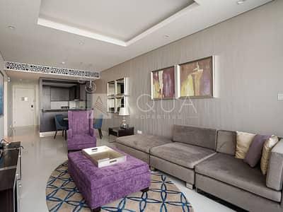 شقة 2 غرفة نوم للايجار في وسط مدينة دبي، دبي - Affordable | Fully Furnished | Well Maintained