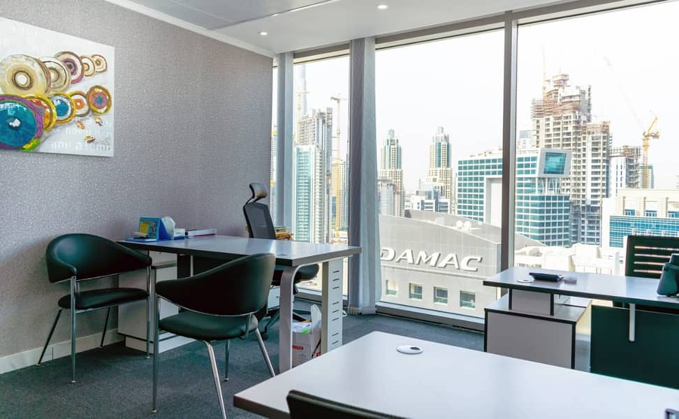 Premium fully furnished 200-220 SQFT office spaces- No commission!