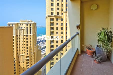 فلیٹ 2 غرفة نوم للايجار في جي بي ار، دبي - Amwaj 4 | Immaculate | Available Now