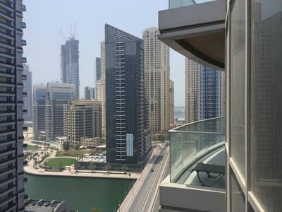 2 Bedroom Flat for Rent in Dubai Marina, Dubai - Hot Deal 2 Bedroom for rent in The Waves Tower A Dubai Marina