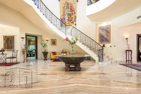 5 Bedroom Villa for Sale in Emirates Hills, Dubai - Golf course view |  Excellent quality |  Below market price