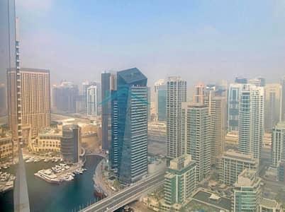 شقة 3 غرفة نوم للبيع في دبي مارينا، دبي - Vacant - Very High Floor - Paloma Tower