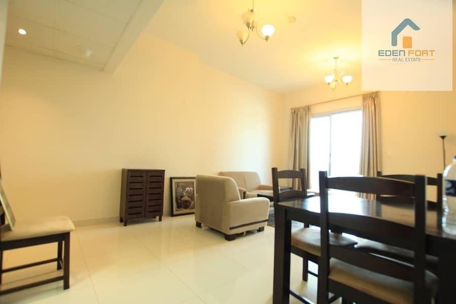 2 Semi-furnished | 1 BHK | Elite Residence |DSC