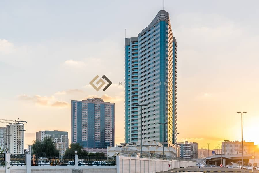 2 2 Bed Room Apartment with  Full Panoramic View of Ajman