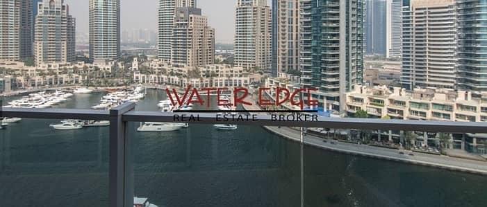 فلیٹ 3 غرفة نوم للايجار في دبي مارينا، دبي - Full Marina View I 3BR I Must See!