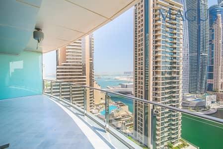 1 Bedroom Apartment for Rent in Dubai Marina, Dubai - Stunning Full Marina View | Free Chiller| 1 br
