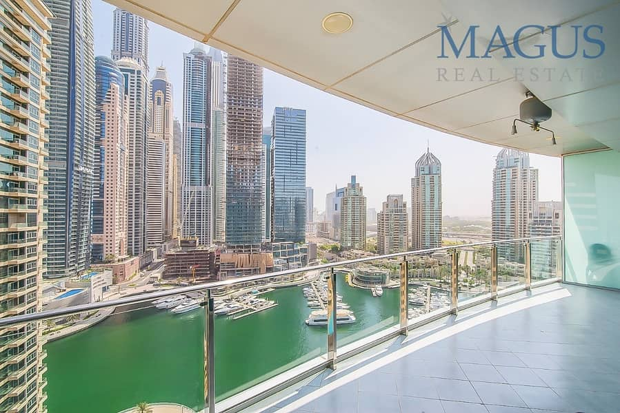 2 Stunning Full Marina View | Free Chiller| 1 br