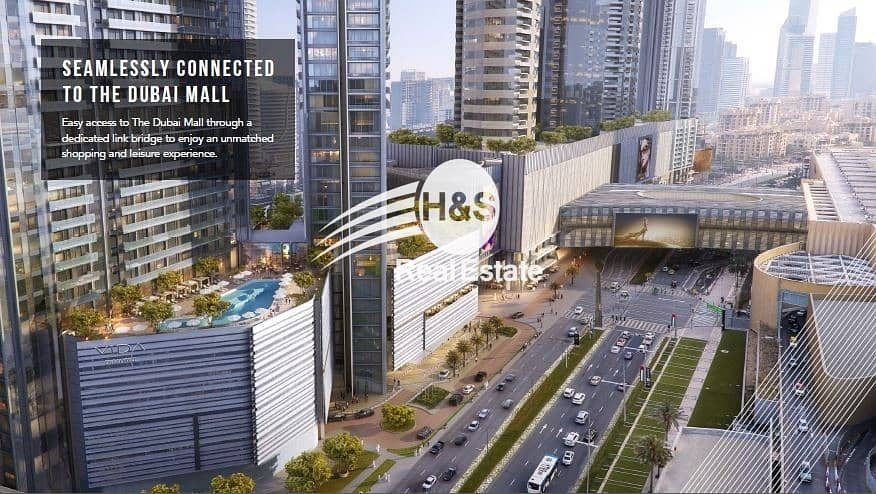 2 Most affordable 2 BR. Direct connection to Dubai Mall
