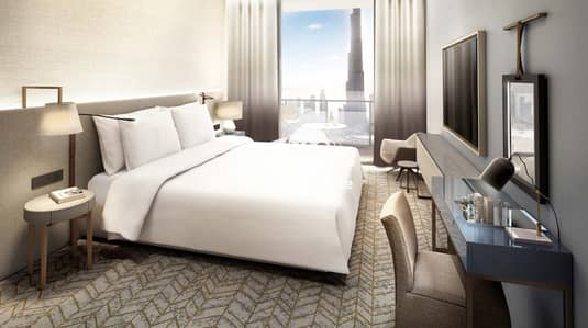 2 Bedroom Apartment for Sale in Downtown Dubai, Dubai - Most affordable 2 BR. Direct connection to Dubai Mall