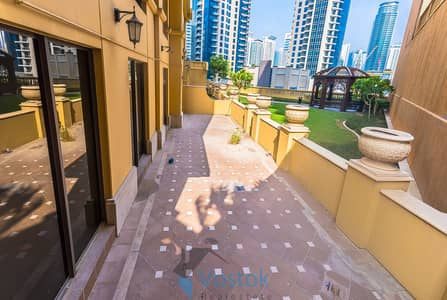 4 Bedroom Flat for Rent in Jumeirah Beach Residence (JBR), Dubai - Upgraded Duplex 4 BR + Maid+ Terrace| Rare Unit !