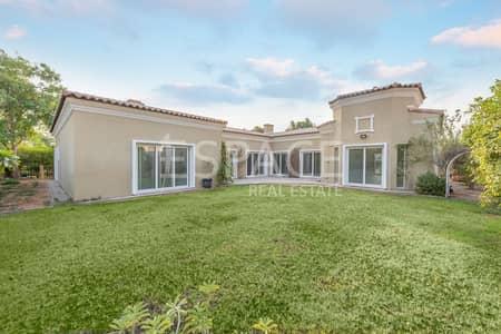 4 Bedroom Villa for Sale in Green Community, Dubai - Corner Plot | Backing Park Area | Vacant