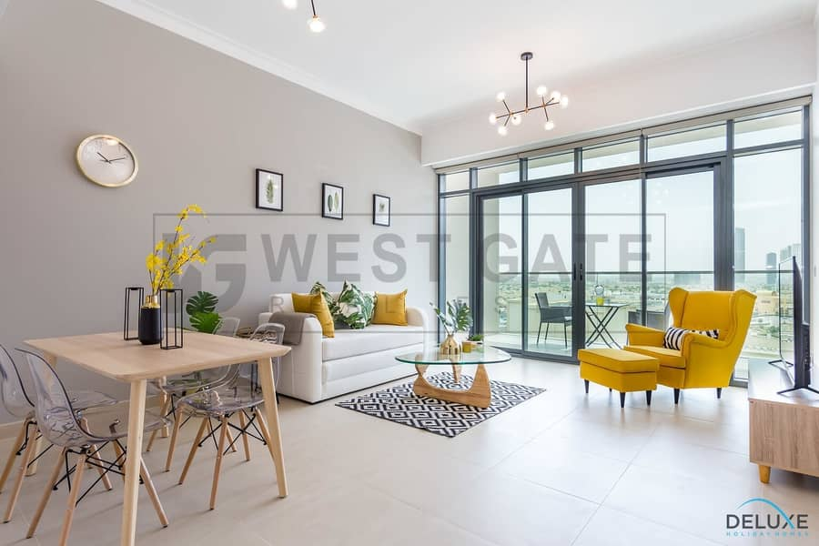 Bright and Furnished 1BR   The Hills Tower A1