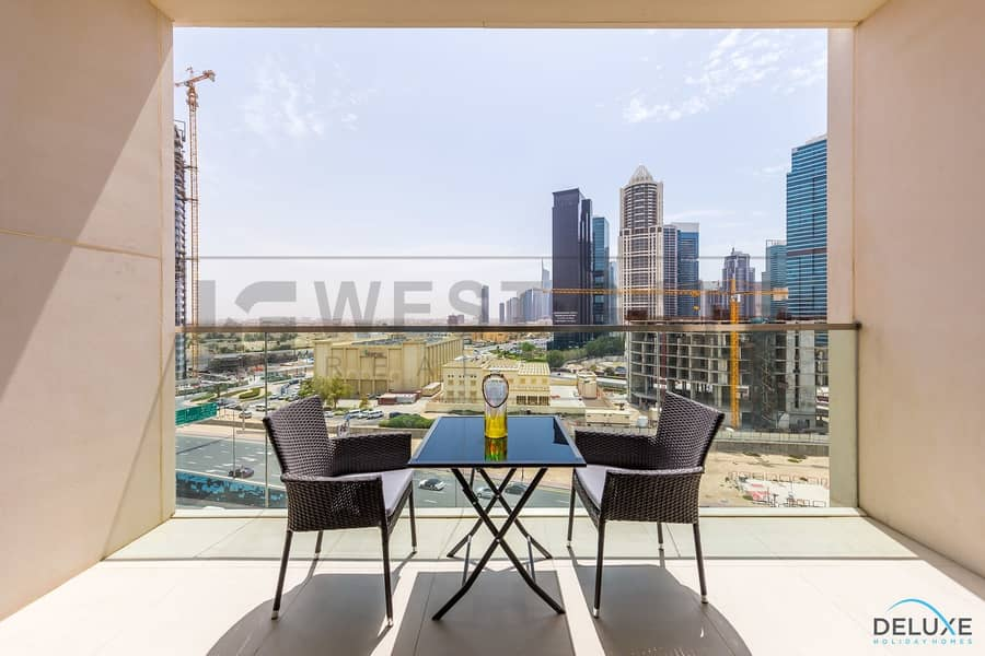 13 Bright and Furnished 1BR   The Hills Tower A1