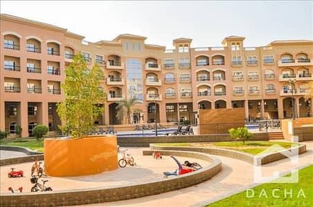 تاون هاوس 3 غرفة نوم للايجار في قرية جميرا الدائرية، دبي - Spanish Tiles Upgraded Pool view Townhouse