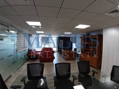 Fully Fitted & Furnished Office At JLT I Saba Tower 1