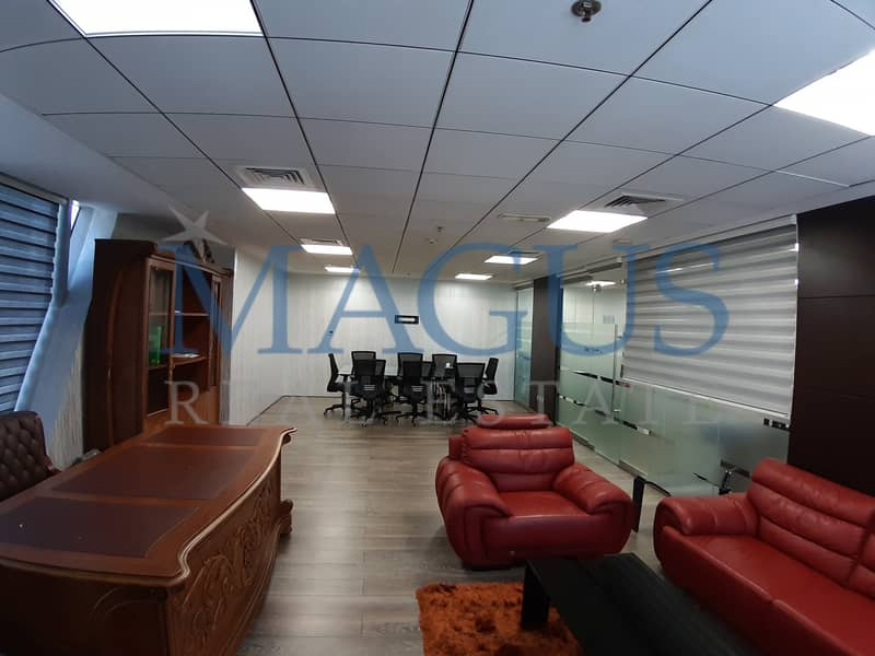 2 Fully Fitted & Furnished Office At JLT I Saba Tower 1