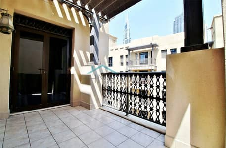 1 Bedroom Flat for Sale in Old Town, Dubai - Vacant unit | Reehan | Community View