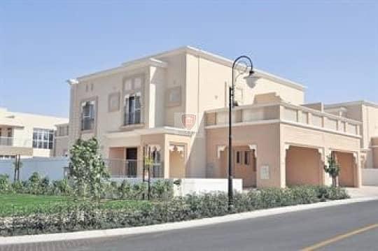 تاون هاوس في فلل السدر واحة دبي للسيليكون 3 غرف 155000 درهم - 4326448