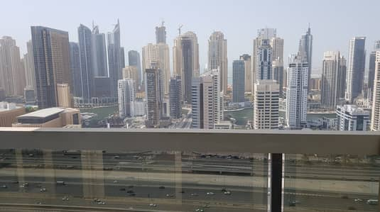 2 Bedroom Flat for Rent in Jumeirah Lake Towers (JLT), Dubai - Full Marina View | 2 Bed Room | With Balcony | 53K