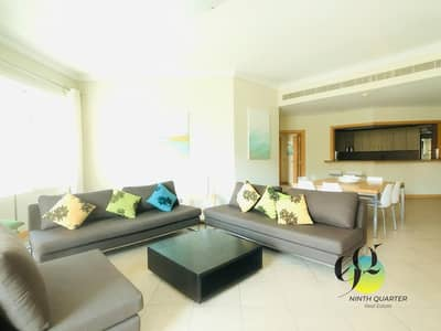 شقة 3 غرفة نوم للايجار في نخلة جميرا، دبي - 13 months contract