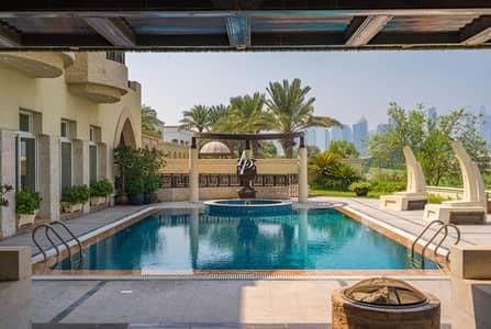 فیلا 5 غرف نوم للبيع في تلال الإمارات، دبي - Golf Course &Sky Line View|Arabic Style Huge Villa