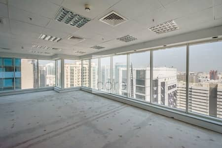 Office for Rent in Deira, Dubai - On High Floor | Available Fitted Office