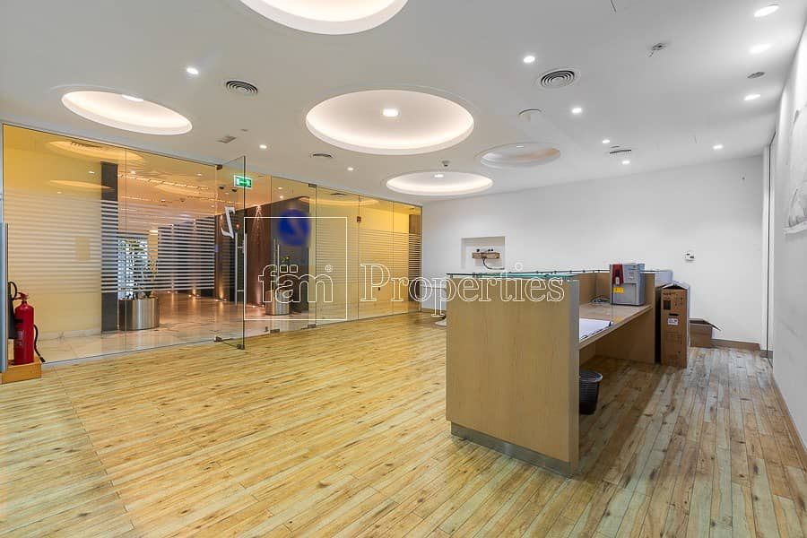 Fully Fitted Office in Emaar Square