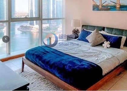 شقة 1 غرفة نوم للايجار في أبراج بحيرات جميرا، دبي - Fully Furnished Apartment in MAG 214 / Lake and Pool View