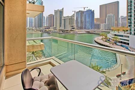 شقة 1 غرفة نوم للبيع في دبي مارينا، دبي - 1 Bedroom | Marina View | Infinity Pool