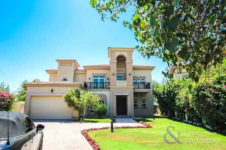 4 Bedroom Villa for Rent in Jumeirah Islands, Dubai - Close to Clubhouse | Negotiable | 4 Beds