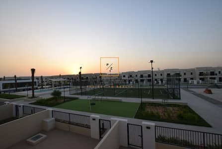 3 Bedroom Townhouse for Rent in Town Square, Dubai - Park Facing | 3 Bedrooms + Maids | Type 9