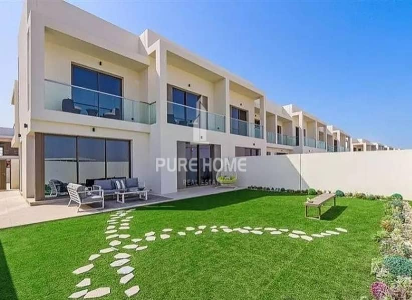 Phenomenal Development in Yas Island Own now This 3 Bedrooms VILLA  For All Nationalities