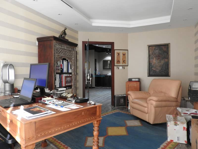 Semi Furnished Spacious Fitted Office | Business Bay Dubai