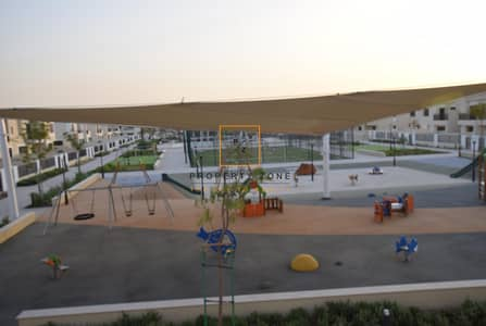 3 Bedroom Townhouse for Rent in Town Square, Dubai - On Pool and Park | 3 Beds + Maids | Type 9