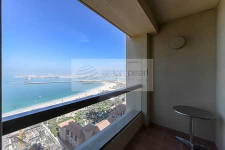2 Bedroom Apartment for Sale in Jumeirah Beach Residence (JBR), Dubai - Full Sea and Dubai Eye View