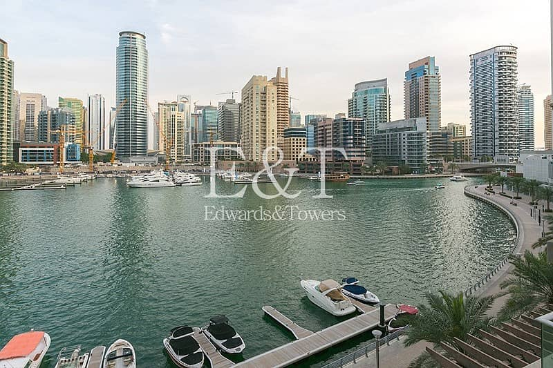 23 Fully Upgraded | Full Marina View | Furnished