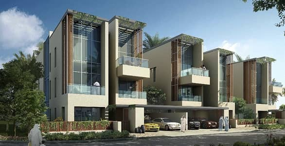 فیلا 6 غرفة نوم للبيع في ميدان، دبي - In the center of Medan luxury villas 6 -Bd  ready to move and installments up to 20 years
