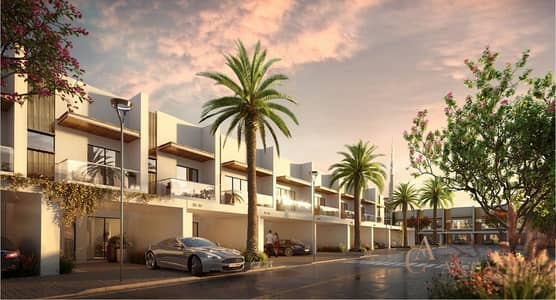 2 Bedroom Townhouse for Sale in Mohammad Bin Rashid City, Dubai - EXQUISITE 2 BEDROOM TOWNHOUSE IN MAGEYE DISTRICT ONE